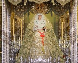 La Virgen de la Macarena. Mediados siglo XVII. Sevilla. Basílica de Nuestra Señora de la Esperanza
