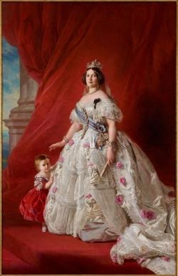 Retrato de Isabel II, 1865
