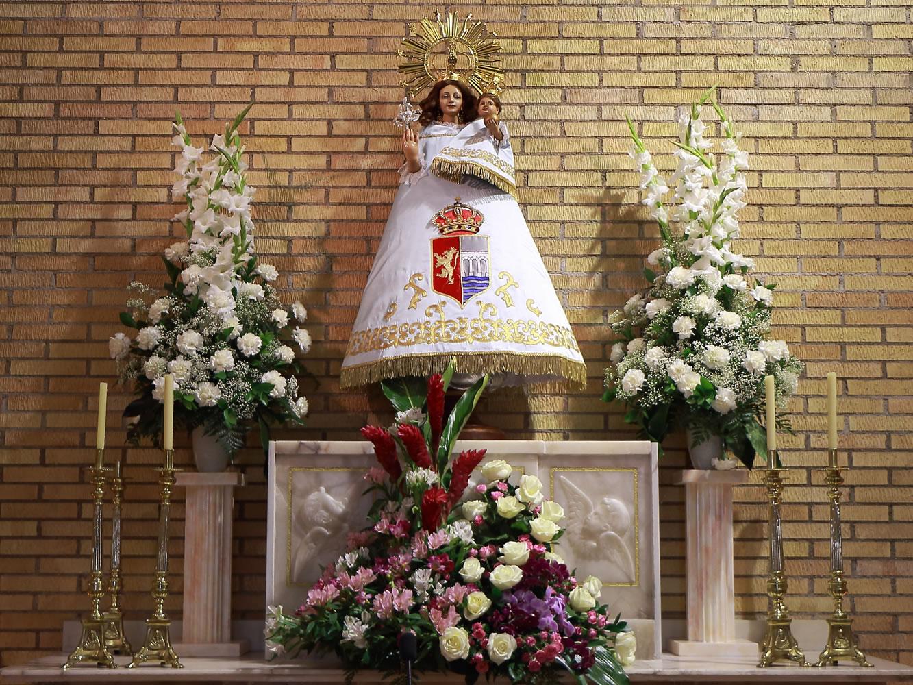 Himno a la Virgen de Alfindén