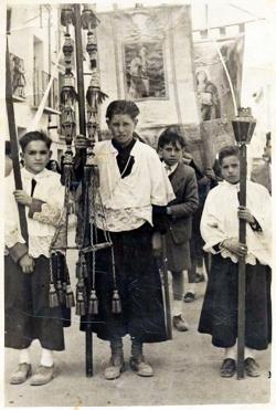 1950: Jesús Moliné Labarta, Manuel Casamian Laborda, Ernesto Laborda Vidal, Leonardo Soriano Lapuente
