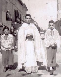 1961: José Mateo Lacambra, José Amorós Andrés, Jesús Meléndez Falcón