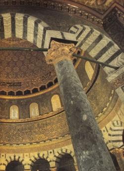 La Cúpula de la Roca en Jerusalén. Como un cofre precioso