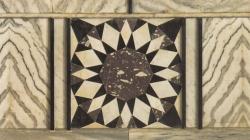 La Cúpula de la Roca en Jerusalén. Revestimientos de mármol