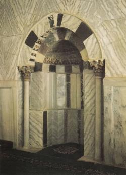 La Cúpula de la Roca en Jerusalén. Lugar de peregrinación