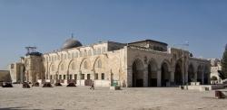 La Cúpula de la Roca en Jerusalén. La mezquita de Jerusalén