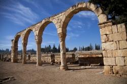 Los Palacios de los Omeyas. Mshatta. Figura 20: en la rica planta de la Bekaa