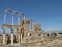 Los Palacios de los Omeyas. Mshatta. Figura 19: la elegancia de Andjar
