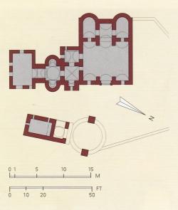 Los Palacios de los Omeyas. Kusayr Amra. Figura 8: termas en el desierto