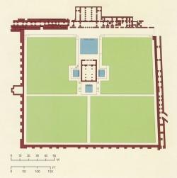 Medina Azahara. Figura 17: Barrio de los palacios