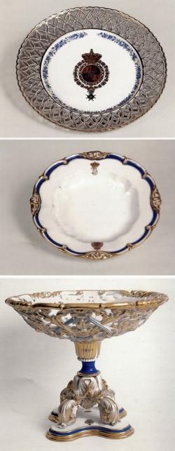 Vajilla de gala de Isabel II, 1846