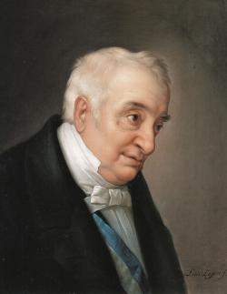 Luis López Piquer: Manuel Quintana. Estudio para el cuadro «La coronación de don Manuel Quintana», ca. 1855-1856