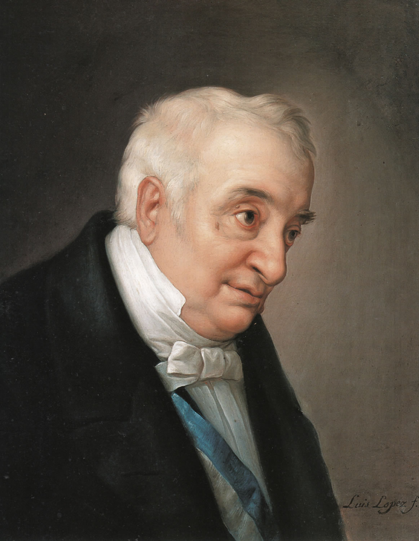 Luis López Piquer: Manuel Quintana. Estudio para el cuadro «La coronación de don Manuel Quintana», ca. 1855-1856.