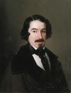 Antonio María Esquivel: Retrato de José de Espronceda, ca. 1838
