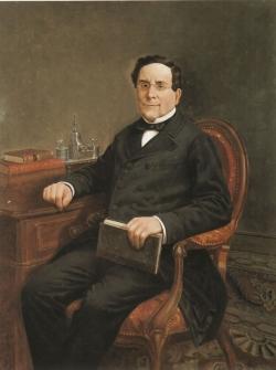 Víctor Manzano y Mejorada: Retrato de Ramón de Mesonero Romanos