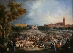 Andrés Cortés: La feria de Sevilla, 1852