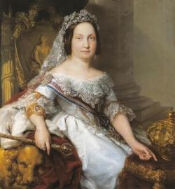 Vicente López Portaña: Retrato de Isabel II, ca. 1843