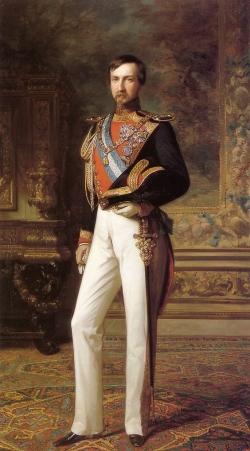 Federico de Madrazo y Kuntz: Retrato de don Antonio de Orleans, duque de Montpensier, 1851
