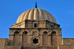 Mezquita de Kairuán. Figura 5: cúpula acanalada