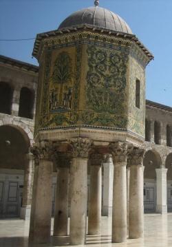 Mezquita de Damasco. El edículo del Tesoro