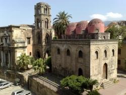 Iglesia de San Cataldo, en Palermo
