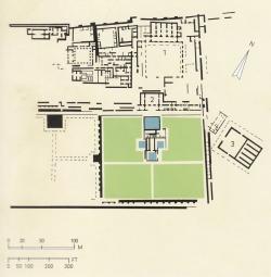 Medina Azahara. Figura 18: el palacio privado