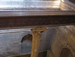Nilómetro de Rodas. Fig. 5: el pozo reforzado por arcos.