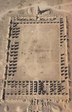 Samarra. Mezquita construida por el califa al-Motawakkil en el 859, en el barrio de Abu Dolaf