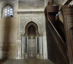 Mezquita de Ibn Tulun. Figura 14: en dirección a la Kaaba