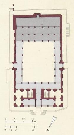 Mezquita de Salih Talaï. Figura 28: escala reducida