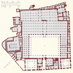 Mezquita de al-Azhar. Figura 18: fruto de múltiples añadiduras