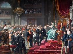 Luis López Piquer: La coronación de Quintana, 1859