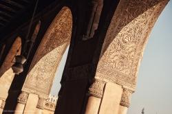 Mezquita de Ibn Tulun. Figura 15: la decoración de yeso