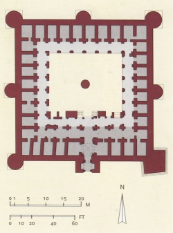 Mezquita-fortaleza de Susa. Fig. 14: castrum.