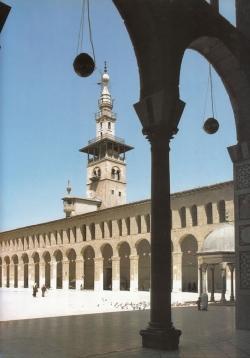 Mezquita de Damasco. La medida del tiempo