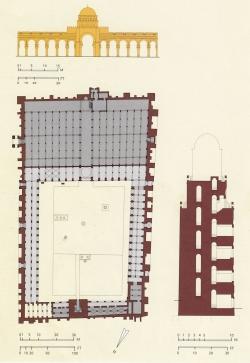 Mezquita de Kairuán. Figura 6: la mezquita de los Aglabíes