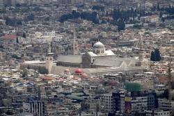 Mezquita de Damasco. La Mezquita de los Omeyas