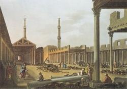 Mezquita de Amr (El Cairo). Figura 1: primera mezquita de El Cairo