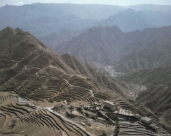 Las montañas de Yemen