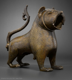 León de bronce del periodo almohade en España