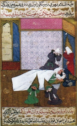 Muerte de Mahoma