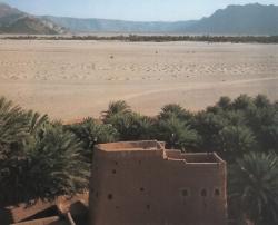 Paisaje de Arabia