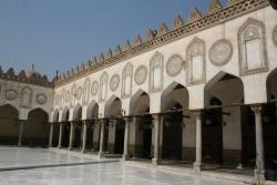 Mezquita de al-Azhar. Figura 19: pórtico sobre el patio