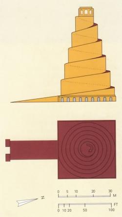 Samarra. Figura 18: sobriedad y monumentalidad