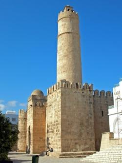 Mezquita-fortaleza de Susa. F. 13: torre-vigía