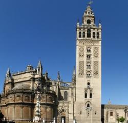 Minarete de la mezquita de Sevilla