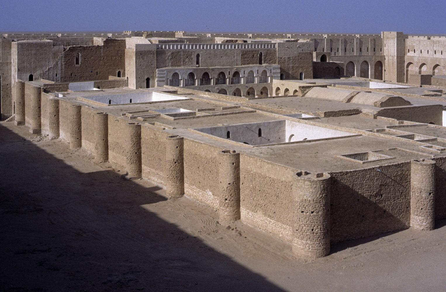 Ukhaïdir. Figura 4: un conjunto de patios