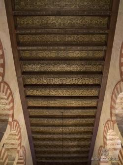 Mezquita de Córdoba. Figura 5a: un dédalo inextricable