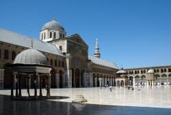 Mezquita de Damasco. Un espacio grandioso