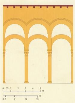 Mezquita de Córdoba. Figura 4: un sabio sistema de sujeción