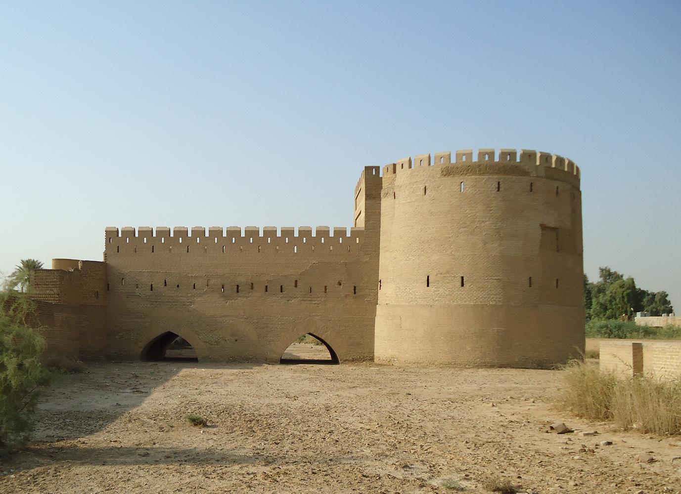 Bab al-Wastani de Bagdad. Muralla